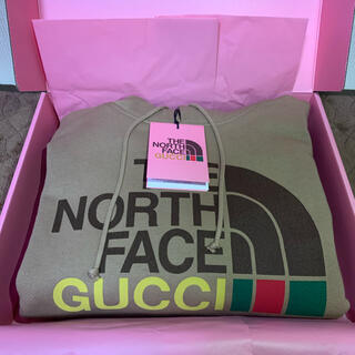 Gucci - the north face × GUCCI hoodie sサイズ