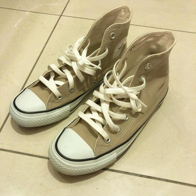 CONVERSE(コンバース)のコンバース ベージュ 24 レディースの靴/シューズ(スニーカー)の商品写真