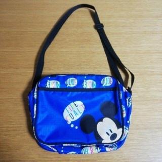 ディズニー(Disney)の幼稚園バッグ ミッキー ディズニー 名前あり 中古(通園バッグ)