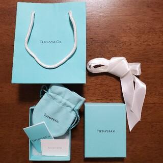 ティファニー(Tiffany & Co.)のティファニー 空箱 ショップバッグセット(ショップ袋)