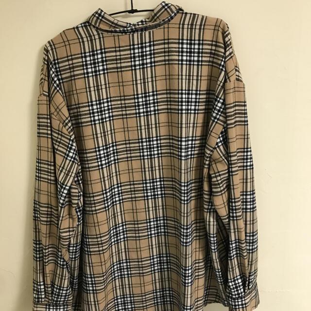 SPINNS(スピンズ)のSPINNS 韓国 チェックシャツ レディースのトップス(シャツ/ブラウス(長袖/七分))の商品写真
