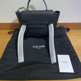 celine - セリーヌ ベルトバック 黒色