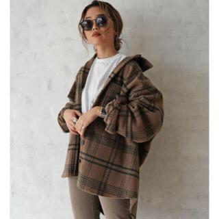TODAYFUL - Flugge  Check wool shirts coat