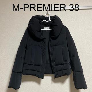 M-premier - 【美品】エムプルミエ ダウン ショート 黒 38