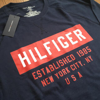 TOMMY HILFIGER - TOMMY HILFIGER トミーヒルフィガーロングスリーブTシャツ新品