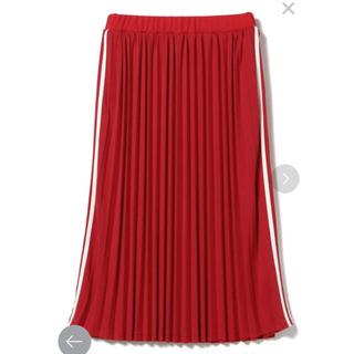 レイビームス(Ray BEAMS)のRay BEAMS サイドラインプリーツスカート(ロングスカート)