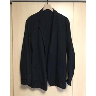 コモリ(COMOLI)のcomoli 20ss ダンガリージャケット BLACK サイズ2(テーラードジャケット)