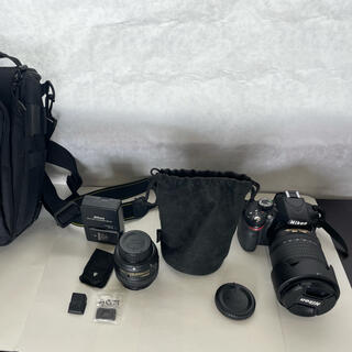 Nikon - D3200+50mm 1:1.8G +18-105mm 1:3.5-5.6G