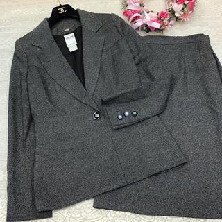 セリーヌ(celine)のセリーヌ  ♡ スカート スーツ ♡ グレー(スーツ)