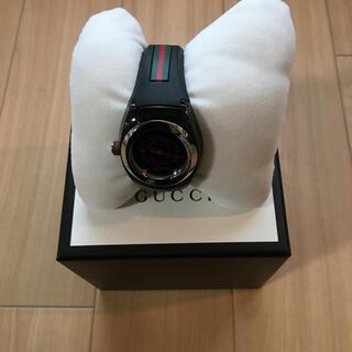 Gucci - GUCCI時計 ブラック 美品