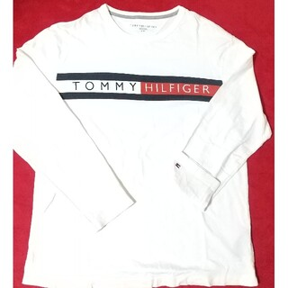 TOMMY HILFIGER - tommy hilfiger トミーヒルフィガー 刺繍ロンT 匿名発送 即購入可