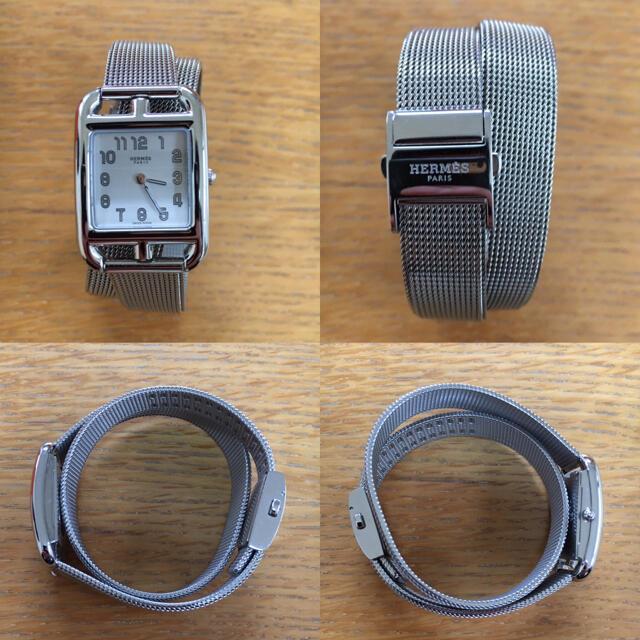 Hermes(エルメス)のHERMES CapeCod 腕時計 ケープコッド エルメス クォーツ 時計 レディースのファッション小物(腕時計)の商品写真