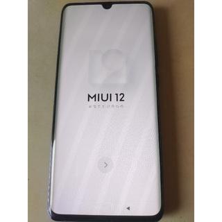 アンドロイド(ANDROID)の【中古】Xiaomi mi note 10 lite ネビュラパープル (スマートフォン本体)