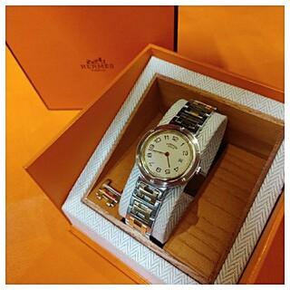 Hermes - エルメス時計 極極美品 クリッパー ・ ボーイズサイズ