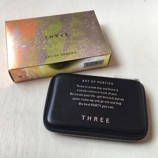 THREE - THREE アートオブパーティーズメイクアップ X02 クリスマスコフレ 限定