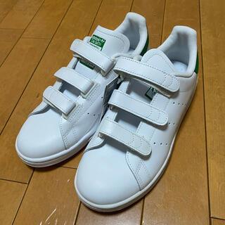 adidas - アディダス スタンスミス Cf ホワイト ホワイト グリーン