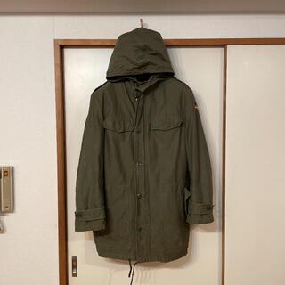 コモリ(COMOLI)の貴重 80s ビンテージ ドイツ軍 ボア ライナー 付 モッズ コート パーカー(モッズコート)