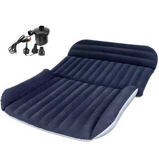 車中泊 マット エアーベット 厚さ12㎝ SUV車用ベッド 簡易ベッド(簡易ベッド/折りたたみベッド)
