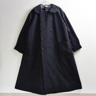 COMME des GARCONS - トリココムデギャルソン 丸襟コート