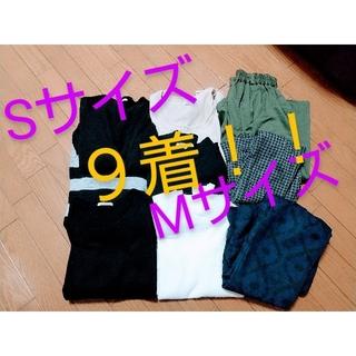 ジーユー(GU)のおまとめ売り M S レディース ブラック カジュアル ニット  ガウチョ(その他)