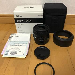 Canon - ★極美品★SIGMA シグマ Art 30mm F1.4 DC キャノン用