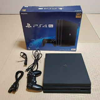 PlayStation4 - PS4PRO 1TB ジェットブラック CHU-7100B