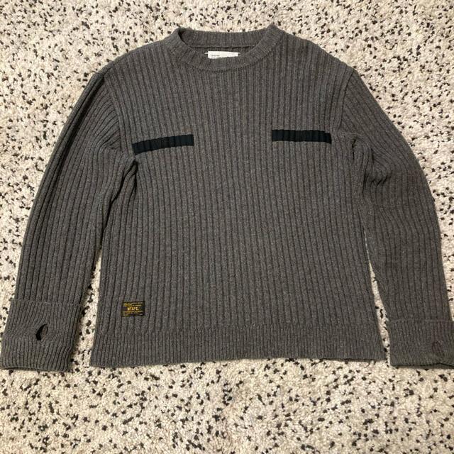 W)taps(ダブルタップス)の名作 Wtaps Commander knit コマンダー メンズのトップス(ニット/セーター)の商品写真