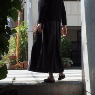 Yohji Yamamoto - ka na ta xakama pants 袴パンツ 黒 かなた