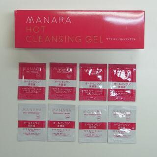 マナラ(maNara)の新品 未開封 マナラ ホットクレンジングゲル 200g クレンジング おまけ付(クレンジング/メイク落とし)