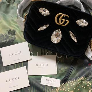Gucci - 新品★GUCCIベルベットミニショルダーバッグ