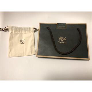 イルビゾンテ(IL BISONTE)のイルビゾンテ 巾着(ひまわりさん専用)(ショップ袋)