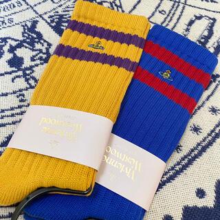 Vivienne Westwood - vivienne westwood ヴィヴィアンウエストウッドの 靴下2足