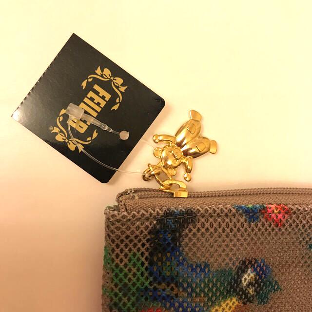 FEILER(フェイラー)のフェイラー FEILER  ハイジ メッシュポーチ ベージュ 新品未使用 レディースのファッション小物(ポーチ)の商品写真