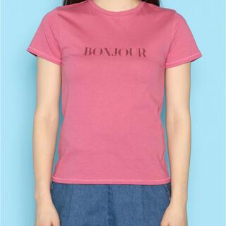 デイシー(deicy)のDAICY BonjourボンジュールTシャツ(Tシャツ(半袖/袖なし))
