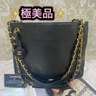 CHANEL - 正規美品 CHANEL シャネル ショルダーバック マトラッセ ブラック 人気