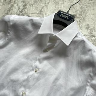 フィナモレ(FINAMORE)の美品 アルコディオ 140番手 ブロード リンクルレジスタンド / 38(シャツ)