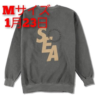 SEA - S_E_A SD SWEAT SHIRT / CHARCOAL