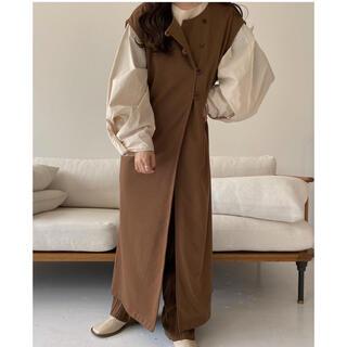 Kastane - Lawgy original side button vest brown