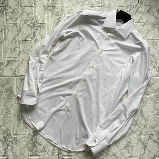 フィナモレ(FINAMORE)のアルコディオ 干場氏監修 限定品 スムースジャージー ドレスシャツ / 38(シャツ)