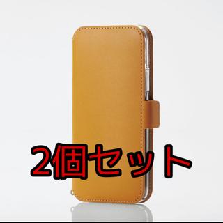 エレコム(ELECOM)の2個セット iPhone 11 PRO  5.8inch 手帳型 磁石付(その他)