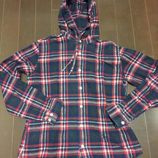 ジムフレックス(GYMPHLEX)のジムフレックスフード付きネルシャツ(シャツ/ブラウス(長袖/七分))