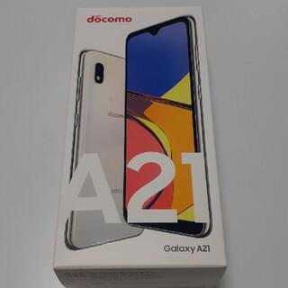 Galaxy - Galaxy A21 ホワイト シムロック解除済み