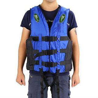 (新品) 救命胴衣 ライフジャケット フローティングベスト ブルーS 子供用(ウエア)