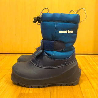 mont bell - ★美品★キッズ16cm★mont-bell★スノーブーツ★モンベル
