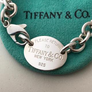 Tiffany & Co. - TIFFANY リターントゥティファニー オーバル タグ チョーカー