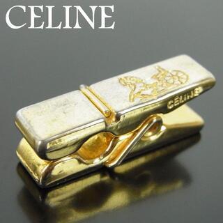 セリーヌ(celine)のセリーヌ メンズ ロゴ 馬車 キャリッジ タイピン タイクリップ(ネクタイピン)