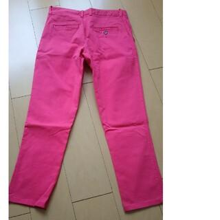 マカフィー(MACPHEE)のマカフィー チノパン 濃いピンク色(チノパン)
