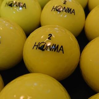 ホンマゴルフ(本間ゴルフ)の【美品】´18ホンマ D1 24球 イエロー ロストボール ゴルフボール(その他)