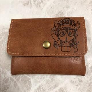 レザー調コインケース ブラウン(財布)
