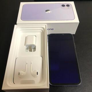 iPhone -  美品★SIMフリー端末 iPhone11 64GB パープル